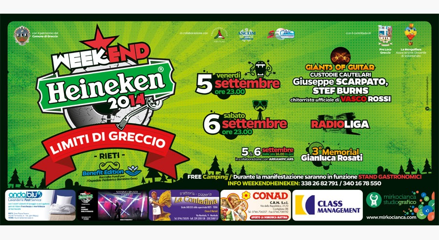 6x3  weekend heineken greccio 2014