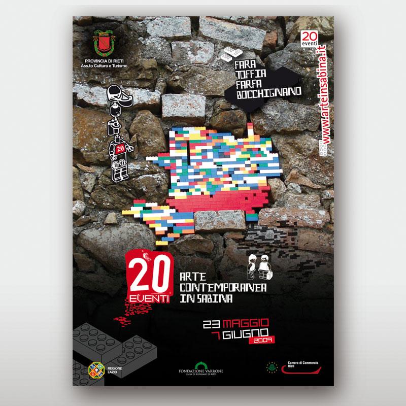 poster 20 eventi 2009