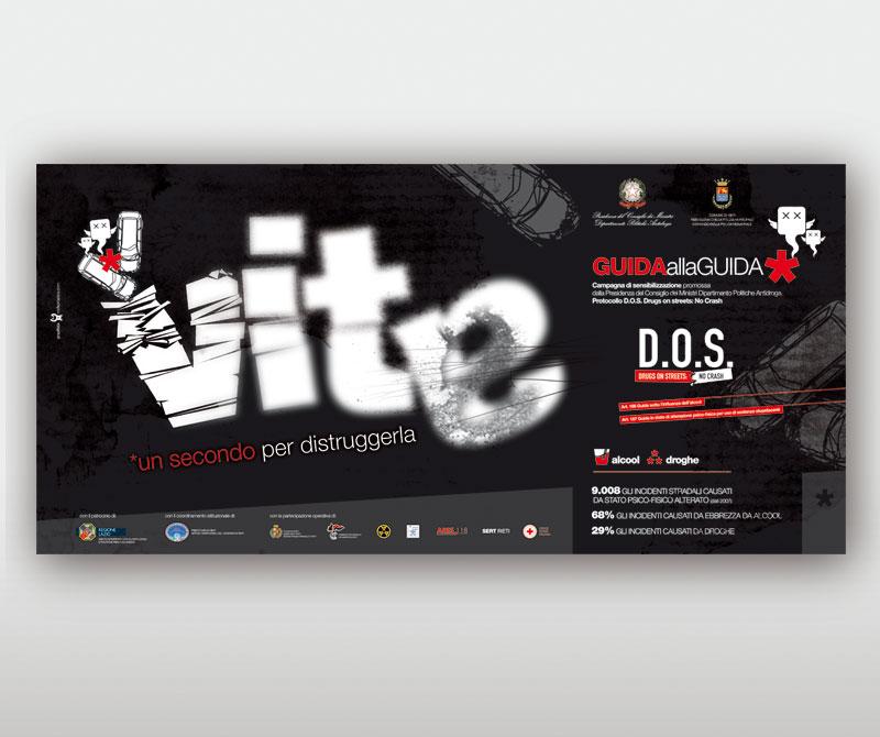 Poster 6x3 DOS