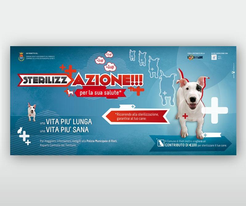 poster 6x3 sterilizzazione