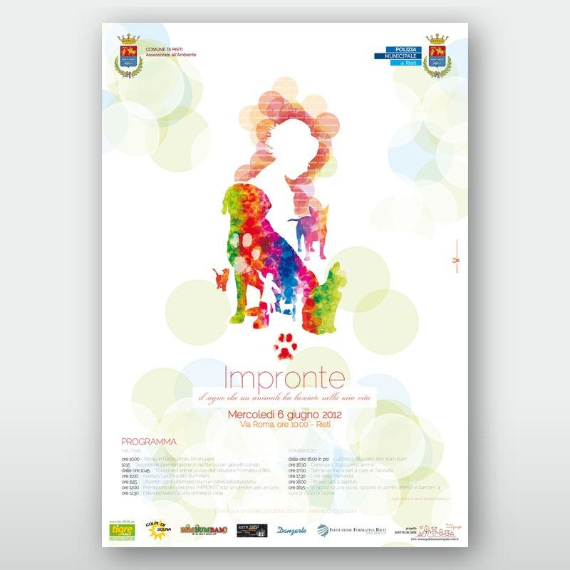 poster 70x100 Impronte 2012