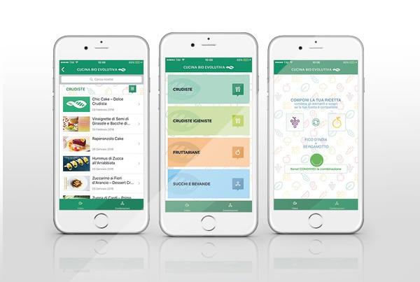 App Cucina Bio Evolutiva